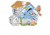 foto Casita pintable Peppa Pig